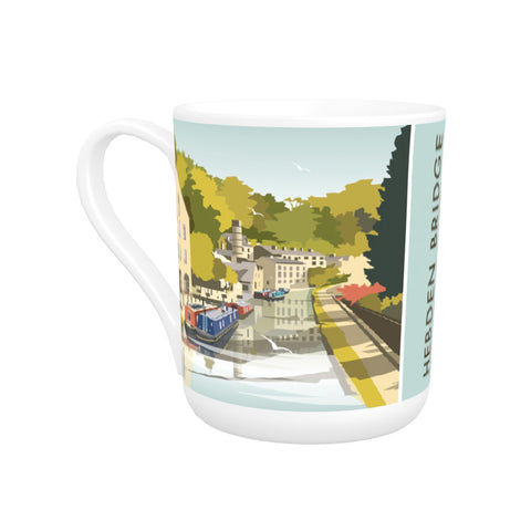Hebden Bridge Bone China Mug