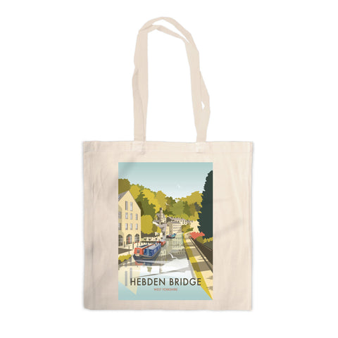 Hebden Bridge Canvas Tote Bag
