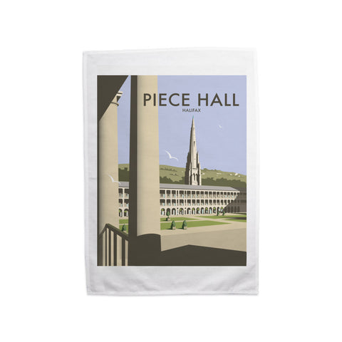The Piece Hall, Halifax Tea Towel