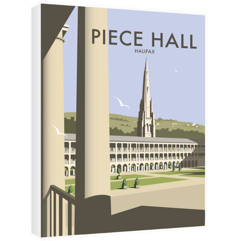 The Piece Hall, Halifax Canvas