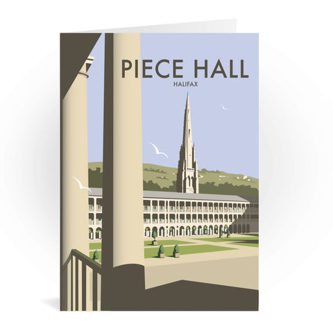 The Piece Hall, Halifax Greeting Card 7x5