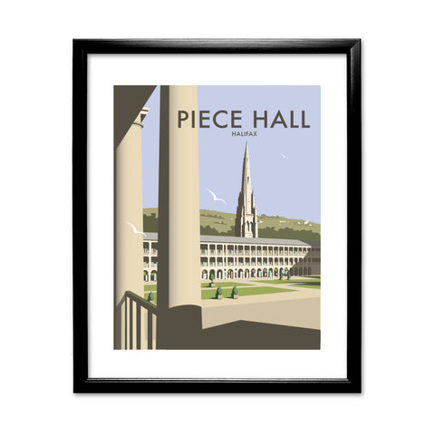 The Piece Hall, Halifax 11x14 Framed Print (Black)