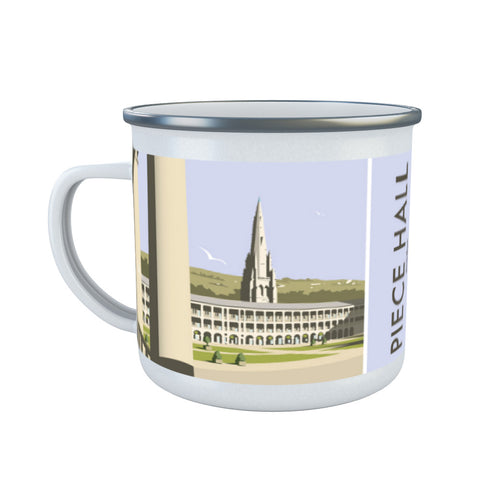 The Piece Hall, Halifax Enamel Mug