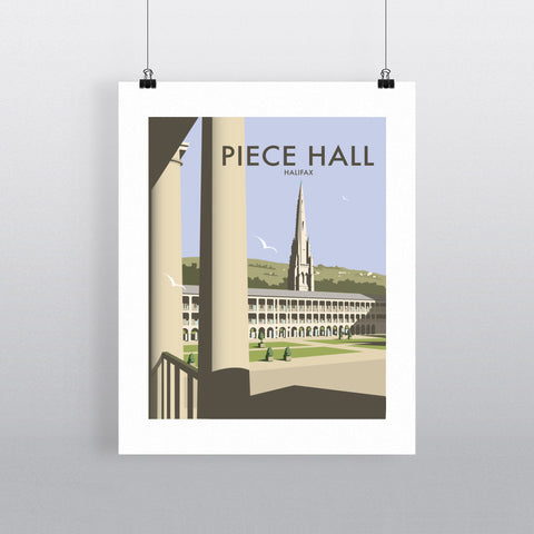 The Piece Hall, Halifax Fine Art Print