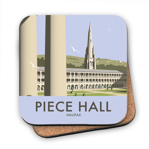 The Piece Hall, Halifax MDF Coaster