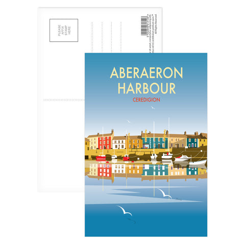 Aberaeron Harbour Postcard Pack