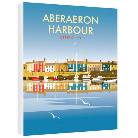 Aberaeron Harbour Canvas