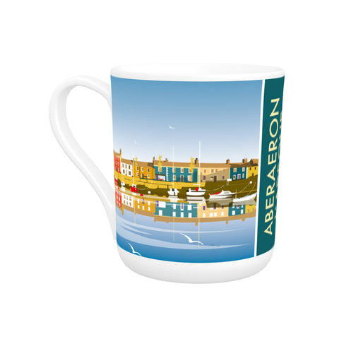 Aberaeron Harbour Bone China Mug