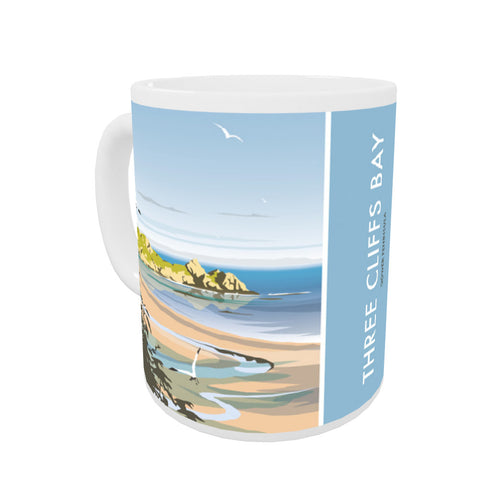 Three Cliffs Bay, Wales Mug
