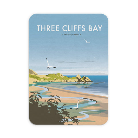 Three Cliffs Bay, Wales Mouse Mat