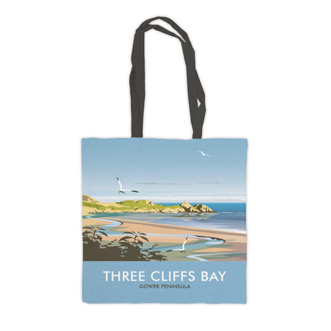 Three Cliffs Bay, Wales Premium Tote Bag