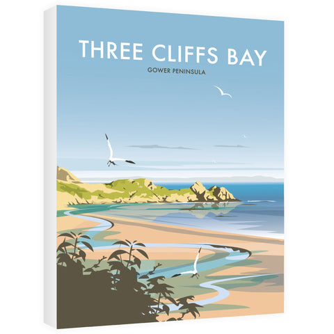 Three Cliffs Bay, Wales Canvas