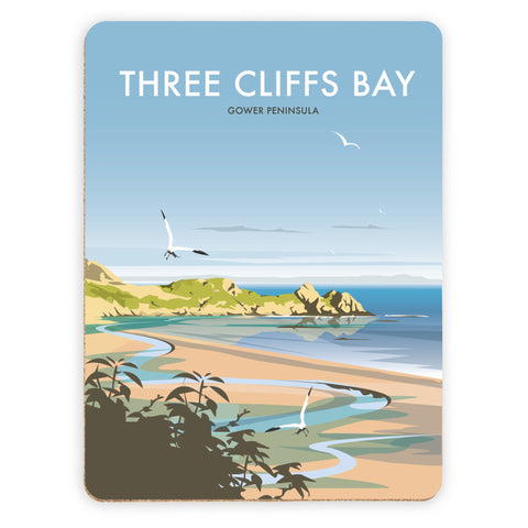 Three Cliffs Bay, Wales Placemat