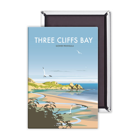 Three Cliffs Bay, Wales Magnet