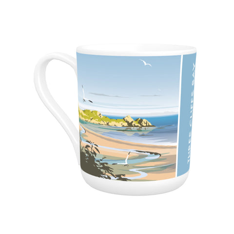 Three Cliffs Bay, Wales Bone China Mug