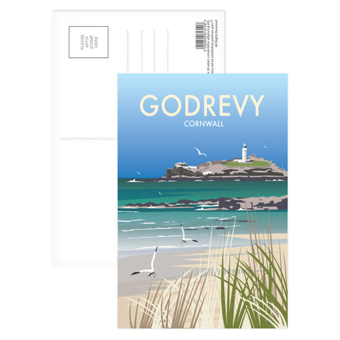 Godrevy, Cornwall Postcard Pack