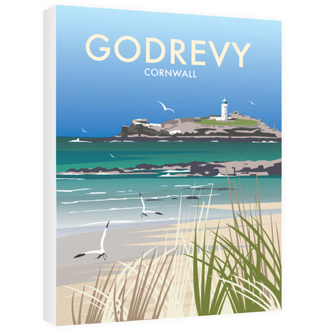 Godrevy, Cornwall Canvas