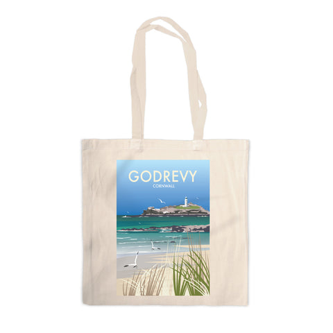 Godrevy, Cornwall Canvas Tote Bag