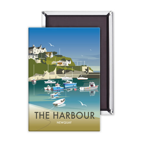 The Harbour, Newquay Magnet