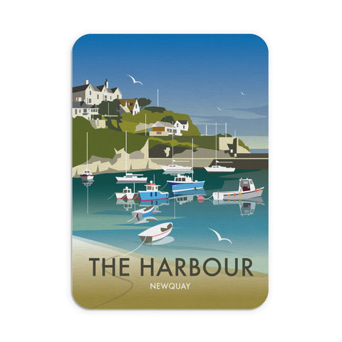 The Harbour, Newquay Mouse Mat
