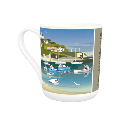 The Harbour, Newquay Bone China Mug