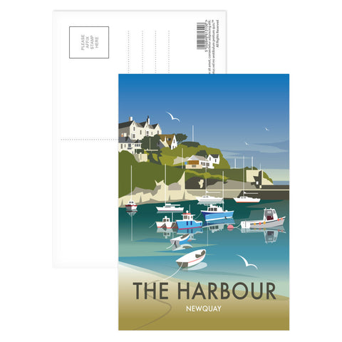 The Harbour, Newquay Postcard Pack