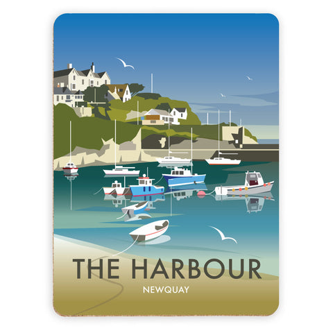 The Harbour, Newquay Placemat