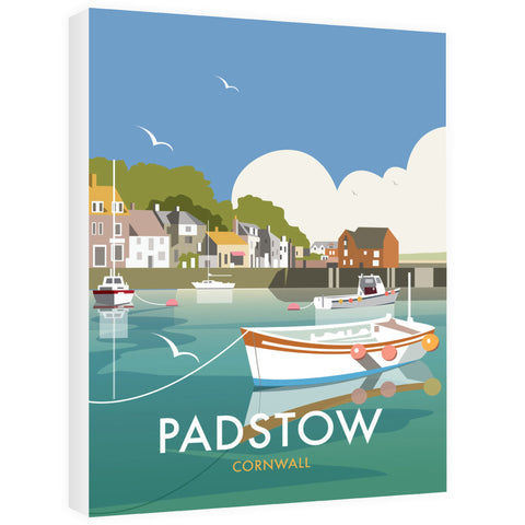 Padstow, Cornwall Canvas