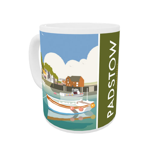 Padstow, Cornwall Coloured Insert Mug