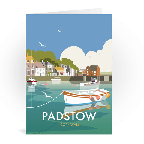 Padstow, Cornwall Greeting Card 7x5