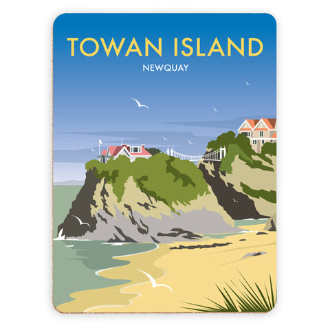 Towan Island, Newquay Placemat
