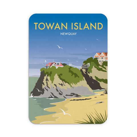 Towan Island, Newquay Mouse Mat