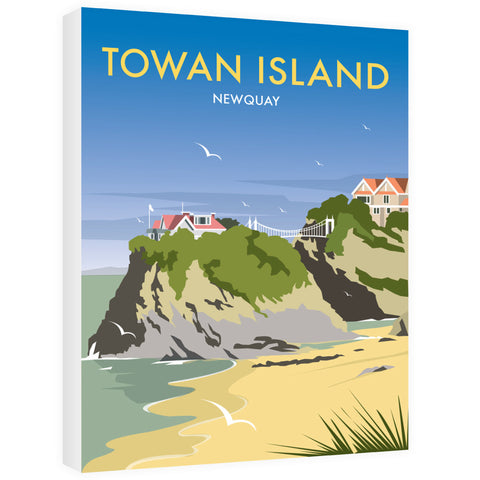 Towan Island, Newquay Canvas