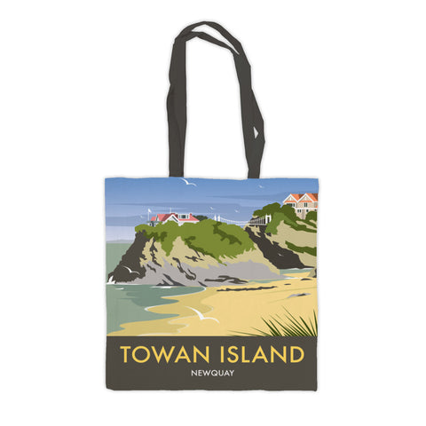 Towan Island, Newquay Premium Tote Bag