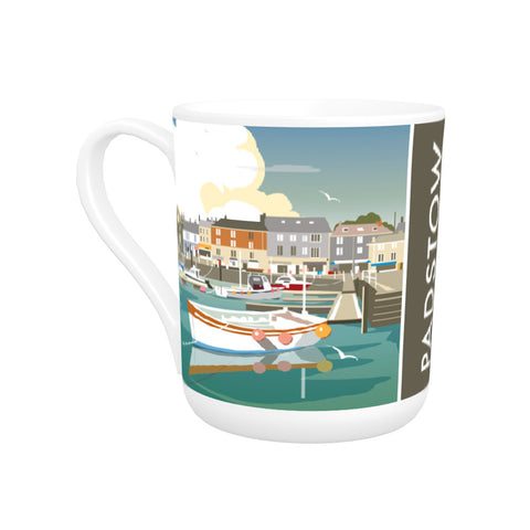 Padstow, Cornwall Bone China Mug