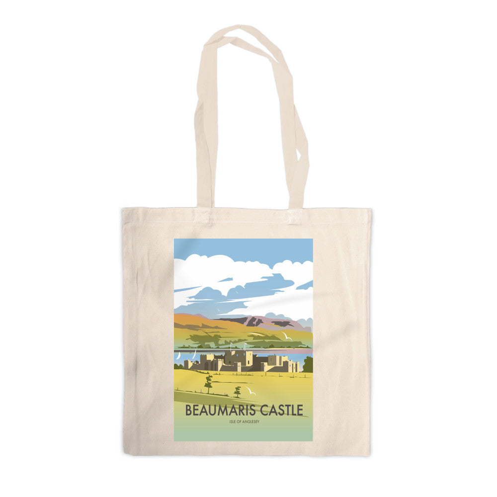 Beaumaris Castle Canvas Tote Bag