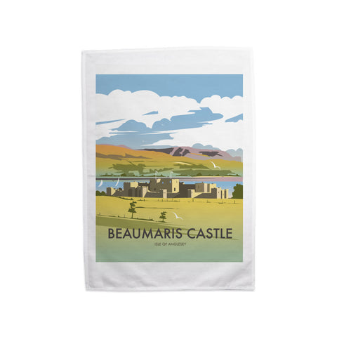 Beaumaris Castle Tea Towel