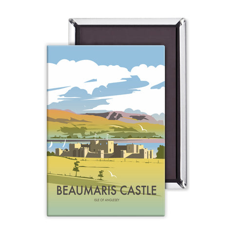Beaumaris Castle Magnet