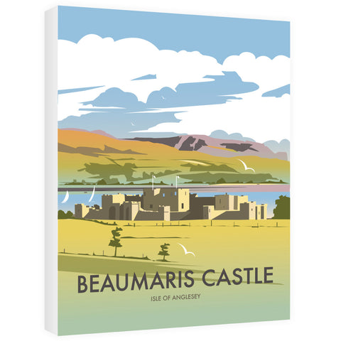 Beaumaris Castle Canvas