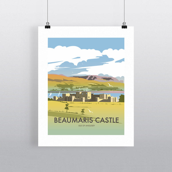 Beaumaris Castle 11x14 Print