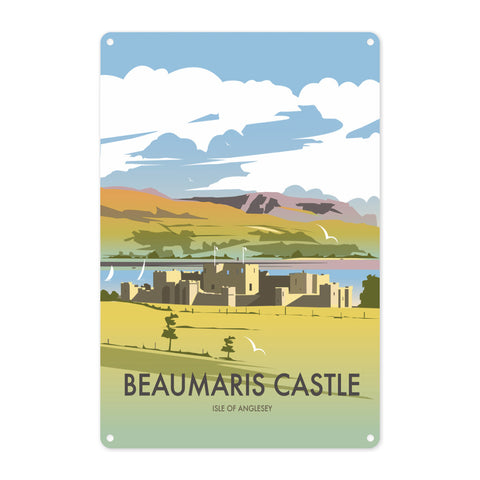 Beaumaris Castle Metal Sign