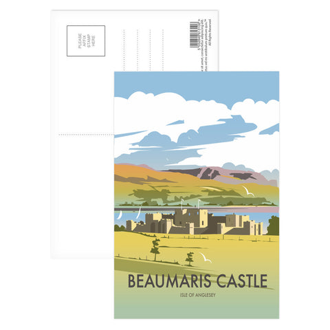 Beaumaris Castle Postcard Pack