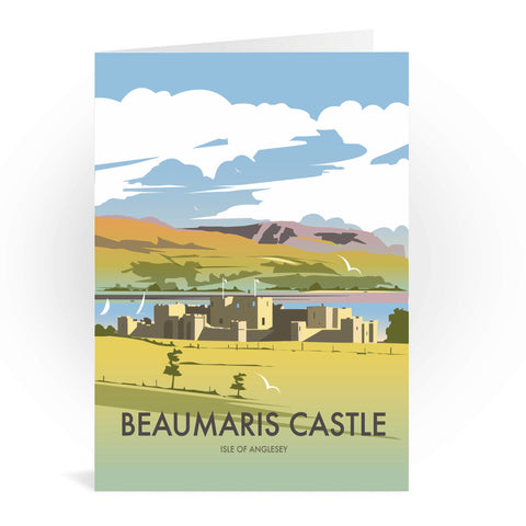 Beaumaris Castle Greeting Card 7x5