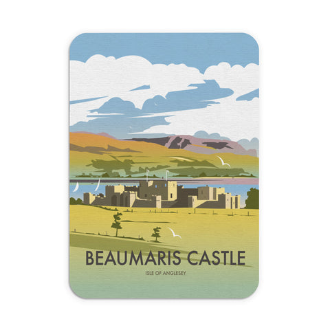 Beaumaris Castle Mouse Mat