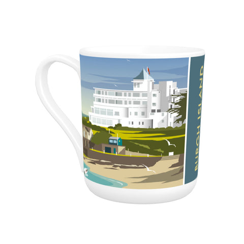 Burgh Island, Devon Bone China Mug