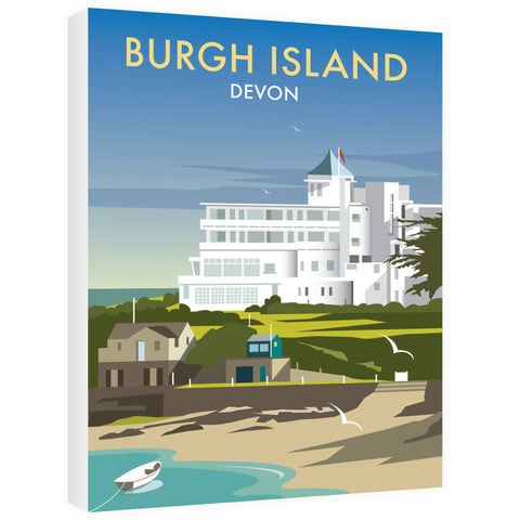 Burgh Island, Devon Canvas