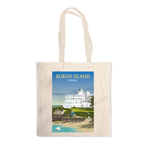 Burgh Island, Devon Canvas Tote Bag