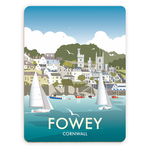 Fowey, Cornwall Placemat