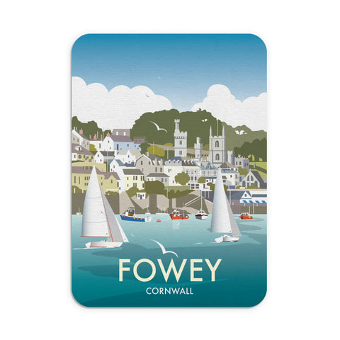 Fowey, Cornwall Mouse Mat