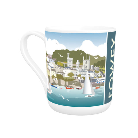 Fowey, Cornwall Bone China Mug